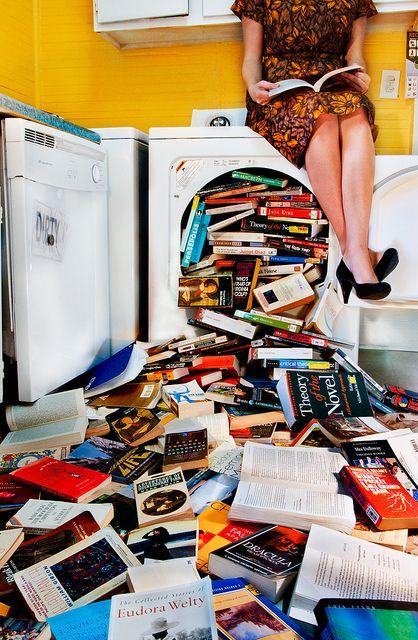 Lavadora literariamente reparada